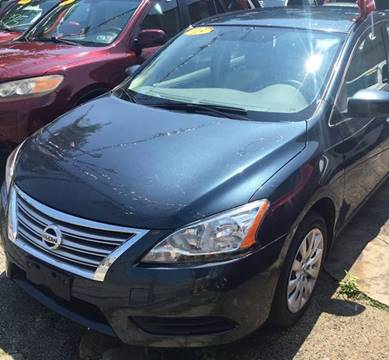 2013 Nissan Sentra for sale at GARET MOTORS in Maspeth NY