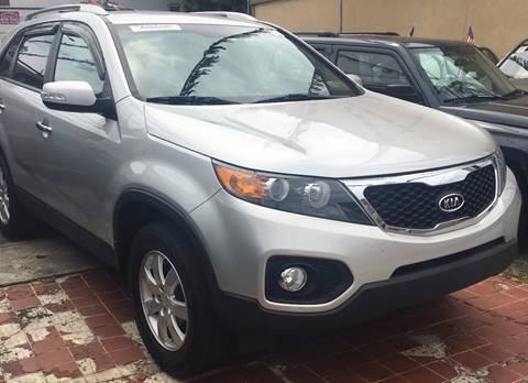 2011 Kia Sorento for sale at GARET MOTORS in Maspeth NY