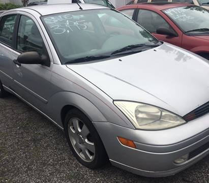 2002 Ford Focus for sale at GARET MOTORS in Maspeth NY