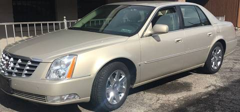 2007 Cadillac DTS for sale at GARET MOTORS in Maspeth NY