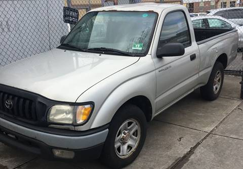 2001 Toyota Tacoma for sale at GARET MOTORS in Maspeth NY