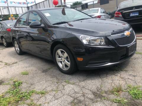2014 Chevrolet Cruze for sale at GARET MOTORS in Maspeth NY