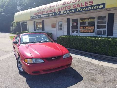 1996 Ford Mustang for sale in Marietta, GA