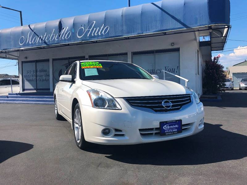 2010 Nissan Altima 3.5 SR 4dr Sedan In Montebello CA - Montebello ...