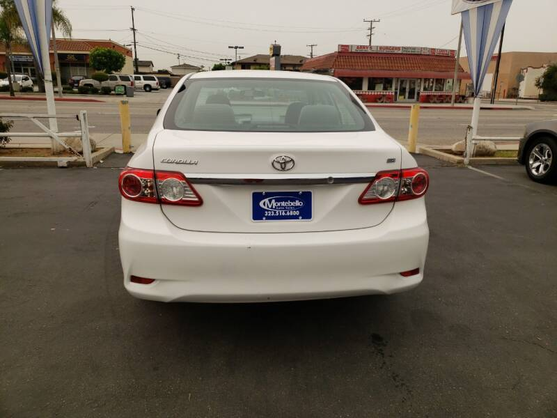 2011 Toyota Corolla 4dr Sedan 4A - Montebello CA