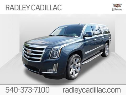 2020 Cadillac Escalade ESV for sale at Radley Cadillac in Fredericksburg VA