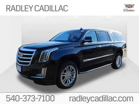 2019 Cadillac Escalade ESV for sale in Fredericksburg, VA