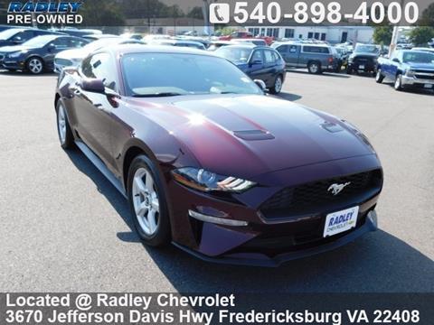 2018 Ford Mustang for sale in Fredericksburg, VA