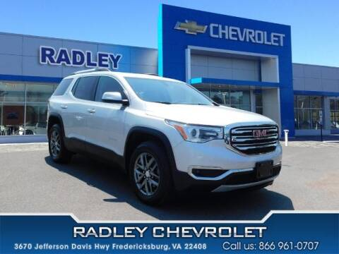 2017 GMC Acadia for sale at Radley Cadillac in Fredericksburg VA