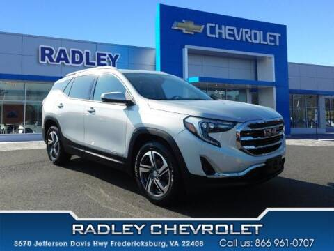 2019 GMC Terrain for sale at Radley Cadillac in Fredericksburg VA