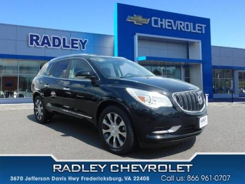 2017 Buick Enclave for sale at Radley Cadillac in Fredericksburg VA