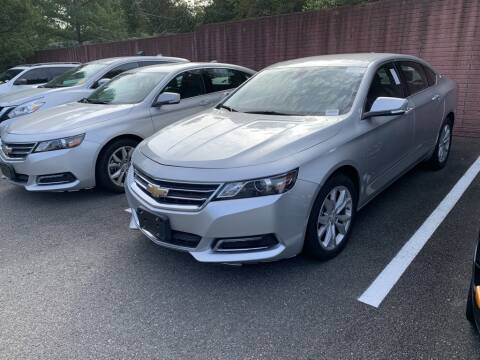 2018 Chevrolet Impala for sale at Radley Cadillac in Fredericksburg VA