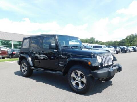 2017 Jeep Wrangler Unlimited for sale at Radley Cadillac in Fredericksburg VA