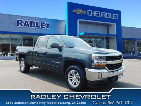 2017 Chevrolet Silverado 1500 for sale at Radley Cadillac in Fredericksburg VA