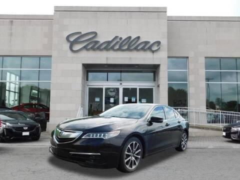 2015 Acura TLX for sale at Radley Cadillac in Fredericksburg VA