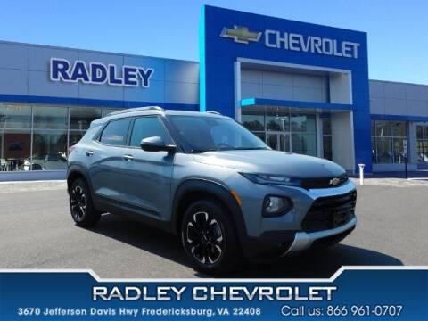2021 Chevrolet TrailBlazer for sale at Radley Cadillac in Fredericksburg VA