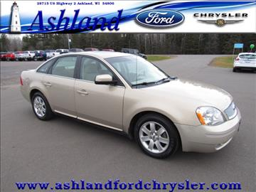2007 Ford Five Hundred for sale in Ashland, WI