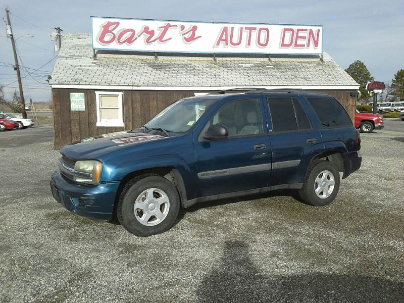 chevrolet at aaa used motor cars ls trailblazer