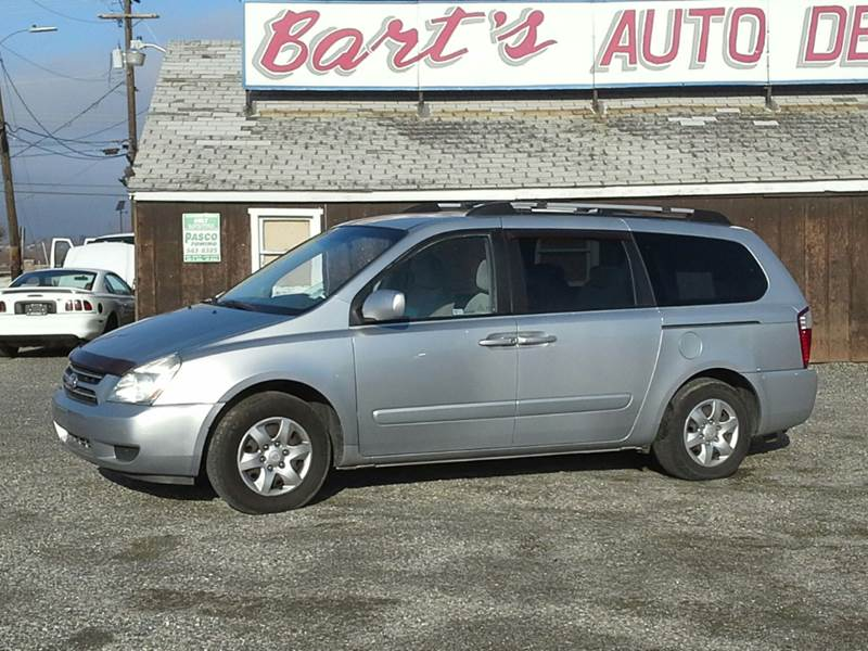 2007 Kia Sedona Lx 4dr Minivan Lwb In Richland Wa Barts Auto Den Incrhbartsautodeninc: 2007 Kia Sedona Spare Tire Location At Gmaili.net