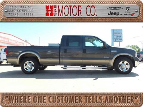 2007 Ford F-350 Super Duty for sale in Madisonville, TX