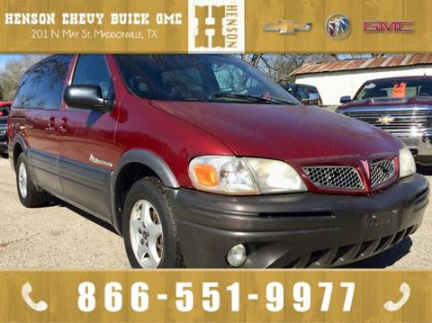 2001 Pontiac Montana for sale in Madisonville, TX