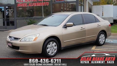 2004 Honda Accord for sale in Rocky Hill, CT