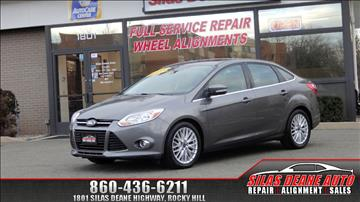2012 Ford Focus for sale in Rocky Hill, CT