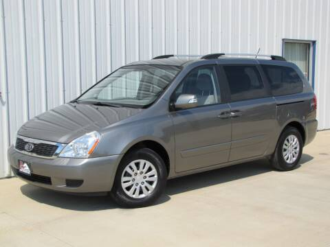 2011 Kia Sedona for sale at Lyman Auto in Griswold IA
