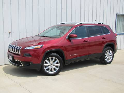 2014 Jeep Cherokee for sale at Lyman Auto in Griswold IA