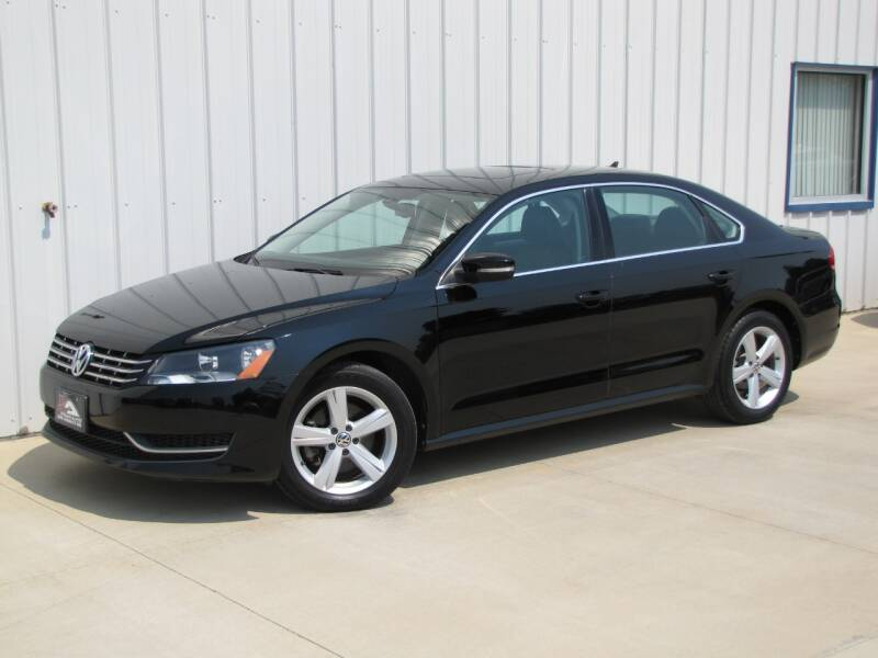 2013 Volkswagen Passat for sale at Lyman Auto in Griswold IA