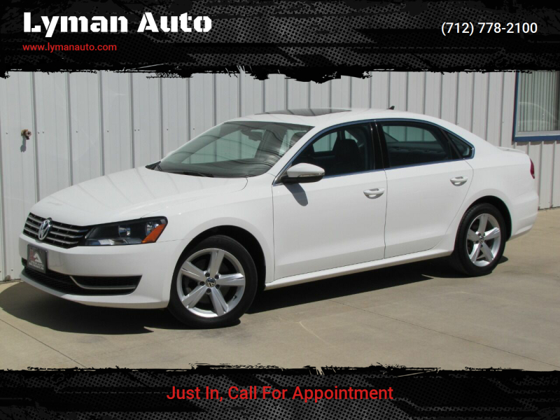 2012 Volkswagen Passat for sale at Lyman Auto in Griswold IA