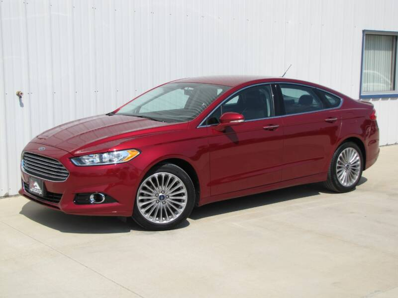 2016 Ford Fusion for sale at Lyman Auto in Griswold IA
