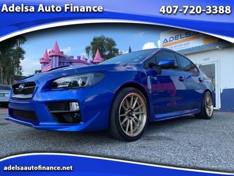 Used Subaru Wrx For Sale >> Used Subaru Wrx For Sale In Orlando Fl Carsforsale Com
