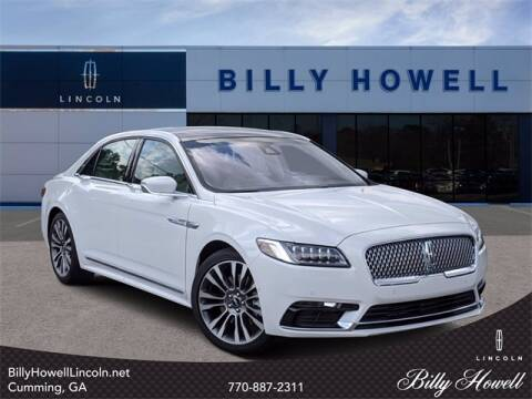 2020 Lincoln Continental for sale at BILLY HOWELL FORD LINCOLN in Cumming GA