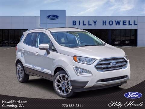 2020 Ford EcoSport for sale at BILLY HOWELL FORD LINCOLN in Cumming GA