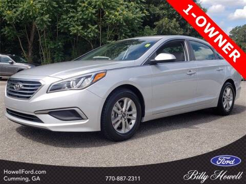 2016 Hyundai Sonata for sale at BILLY HOWELL FORD LINCOLN in Cumming GA