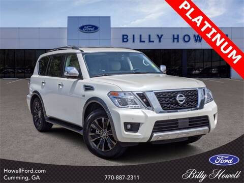 2018 Nissan Armada for sale at BILLY HOWELL FORD LINCOLN in Cumming GA