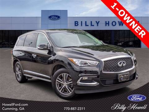 2018 Infiniti QX60 for sale at BILLY HOWELL FORD LINCOLN in Cumming GA