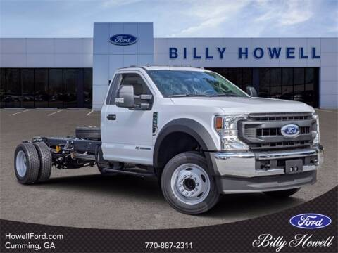 2020 Ford F-550 Super Duty for sale at BILLY HOWELL FORD LINCOLN in Cumming GA