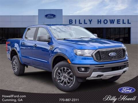 2020 Ford Ranger for sale at BILLY HOWELL FORD LINCOLN in Cumming GA