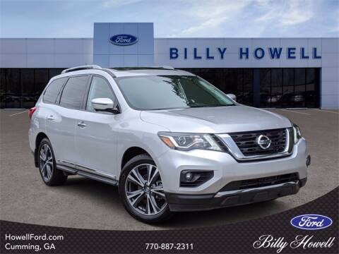 2017 Nissan Pathfinder for sale at BILLY HOWELL FORD LINCOLN in Cumming GA