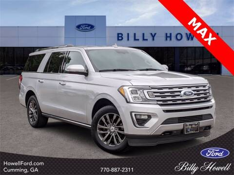 2019 Ford Expedition MAX for sale at BILLY HOWELL FORD LINCOLN in Cumming GA