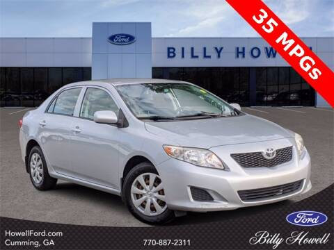 2009 Toyota Corolla for sale at BILLY HOWELL FORD LINCOLN in Cumming GA