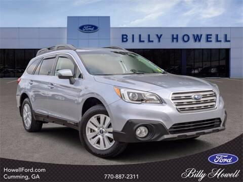2015 Subaru Outback for sale at BILLY HOWELL FORD LINCOLN in Cumming GA