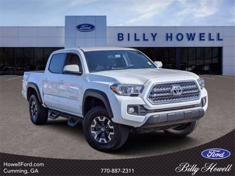 2016 Toyota Tacoma for sale at BILLY HOWELL FORD LINCOLN in Cumming GA