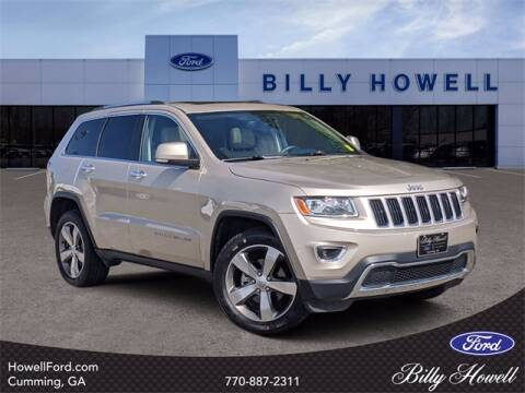 2014 Jeep Grand Cherokee for sale at BILLY HOWELL FORD LINCOLN in Cumming GA