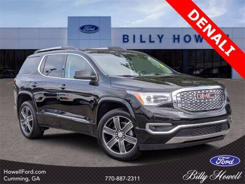 2018 GMC Acadia for sale at BILLY HOWELL FORD LINCOLN in Cumming GA