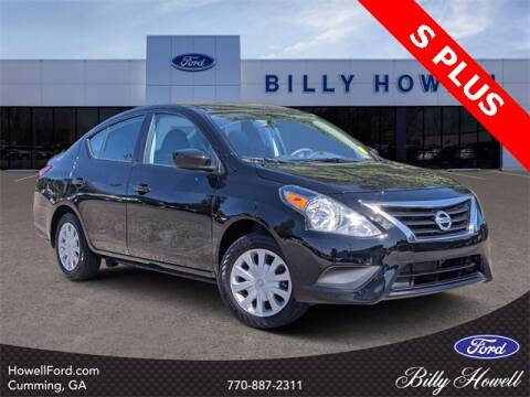 2019 Nissan Versa for sale at BILLY HOWELL FORD LINCOLN in Cumming GA