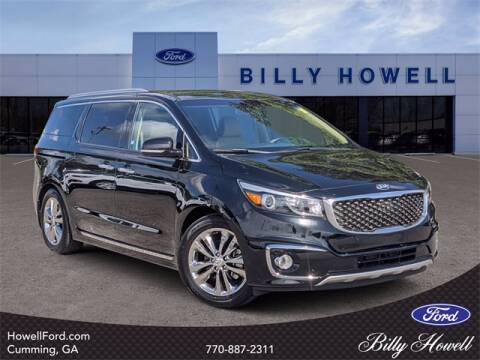 2018 Kia Sedona for sale at BILLY HOWELL FORD LINCOLN in Cumming GA