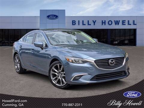 2017 Mazda MAZDA6 for sale at BILLY HOWELL FORD LINCOLN in Cumming GA